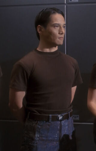 V. Brown during MACO/Starfleet training sessions