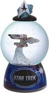 Westland Giftware USS Enterprise Sparkler Snow Globe