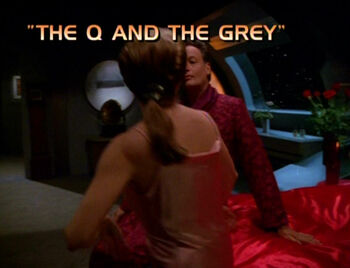 The Q and the Grey title card