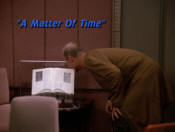 A Matter of Time title card