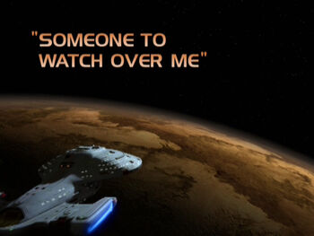 Someone to Watch Over Me title card