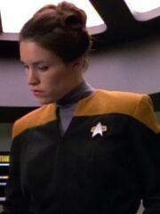 Besatzungsmitglied USS Voyager Transporterraum 2371 Sternzeit 48579