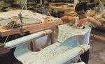 Galaxy class USS Enterprise-D studio model build cast secondary hull almost completed finetuned by Ease Owyeung