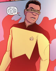 Geordi in the alternate reality