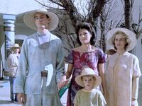 Kamin's family