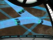 Schematische Darstellung von interspatialien Verteilern