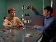Spock and Charlie play chess