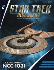 Star Trek Discovery Starships Collection issue 2