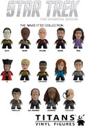 Star Trek Titans Make It So Collection figures