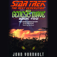 The Genesis Wave Book Two audiobook cover, digital edition