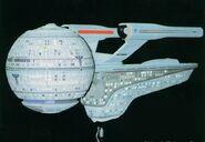 USS Pasteur studio model