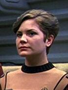 Weibliches Besatzungsmitglied der Enterprise-A
