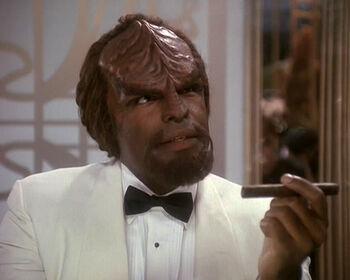 Worf as Duchammps
