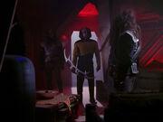 Klingon Bird-of-Prey captain's quarters