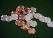 Poker chips, 2370