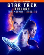 Star Trek Trilogy The Kelvin Timeline Region A Blu-ray cover