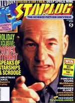 Starlog issue 186 cover