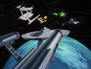 Vedala asteroid starship rendezvous