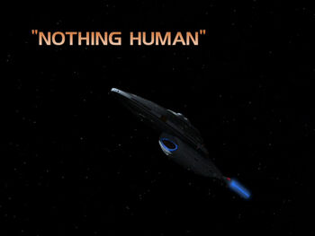 Nothing Human title card