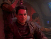 Chakotay in Maquis attire, 2371