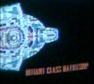 Defiant class battleship, lcars