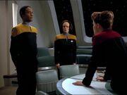 Janeway ist wütend auf Tuvok und B'Elanna