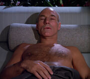 Picard sick from airborne illness