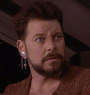 Riker as a Bajoran