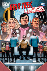 Star Trek - Legion of Super-Heroes issue 1 cover