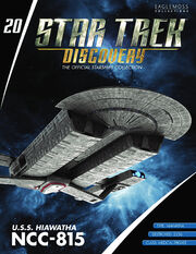 Star Trek Discovery Official Starships Collection issue 20