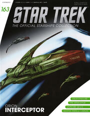 Star Trek Official Starships Collection issue 163