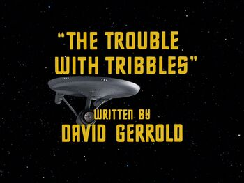 The Trouble with Tribbles title card