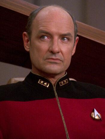 ...as Admiral Erik Pressman