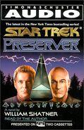 Preserver audiobook cover, US cassette edition