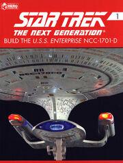 Star Trek TNG Build The USS Enterprise-D issue 1