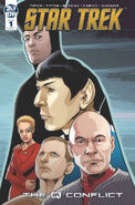 Star Trek The Q Conflict issue 1 cover A