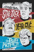 Star Trek Year Five 5 cover RI A