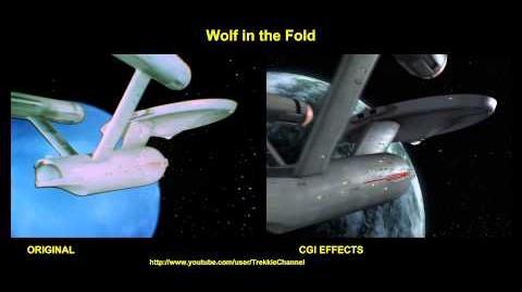 """TOS """"Wolf In The Fold"""" - """"Un loup dans la bergerie"""" - comparaison des effets spéciaux"""