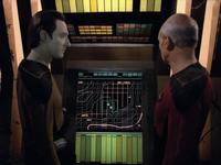The Arsenal of Freedom - Data i Picard przy Echo Papa 607