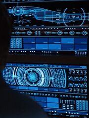 USS Discovery cutaway - ready room