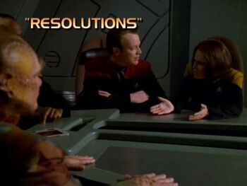 Resolutions title card