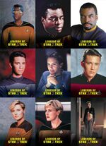 Legends of Star Trek - La Forge, Yar, Wesley Crusher