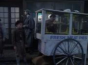 Meat pie cart