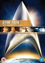 Star Trek II The Wrath of Khan 2009 DVD cover Region 2