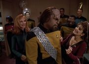 Worf's surprise birthday party