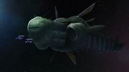 Ancient generation ship