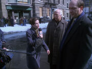 Henry Janeway und Moss vor der Kamera