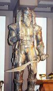 Klingon statue 2