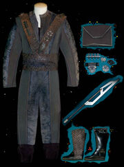 Kudak'Etan costume - It's a Wrap