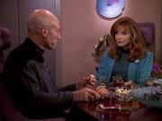 Picard bespricht seine Probleme